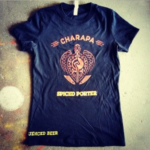 darwins beer shirt charapa spiced porter