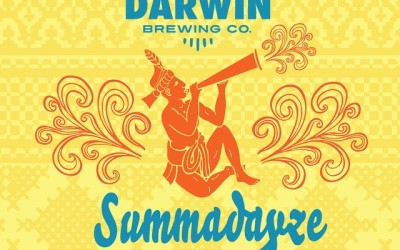 Final Beer label for Darwing Brewing Co.'s Summadayze IPA