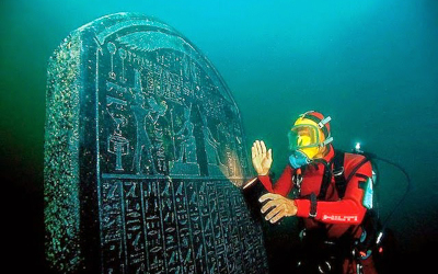 Underwater Archaeologist discovers 1200-year-old lost Egyptian City