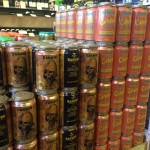 Darwins Brewing Company Cans at Total Wine designed by Kyle Alizon Cross