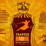 Big Top Brewing Company Trapeze Monk Belgian Style Wit - Can Design by Kyle Alizon Cross