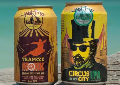 Big Top Brewery – Beer Bottles & Cans
