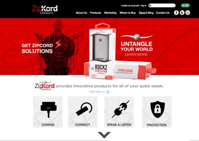 Zipkord – Web Design