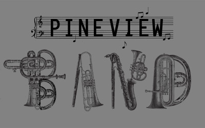 Pineview School Band T-Shirt